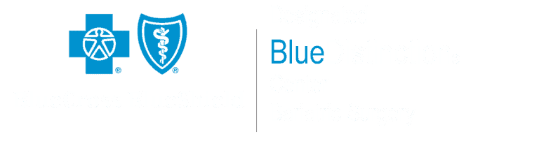 blue cross blue distinction accreditation graphic