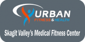 urban fitness and health graphic